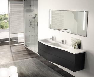Meubles de salle de bain sanisitt comutherm - Creation meuble salle de bain ...